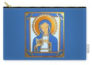 Blue Icon Carry-all Pouch