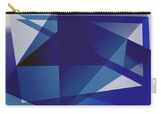 Blue In Blue Carry-all Pouch