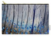 Blue In The Wood Carry-all Pouch