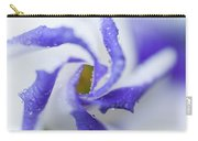 Blue Inspiration. Lisianthus Flower Macro Carry-all Pouch