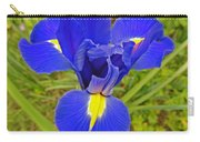 Blue Iris Beauty Carry-all Pouch