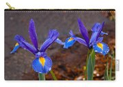 Blue Iris Germanica Carry-all Pouch