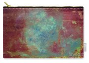 Blue Iron Texture Painting Carry-all Pouch
