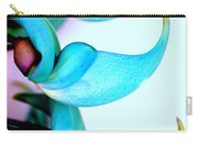 Blue Jade Florets Carry-all Pouch