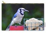 Blue Jay - Cyanocitta Cristata  Carry-all Pouch