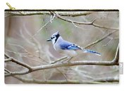 Blue Jay Carry-all Pouch by George Randy Bass