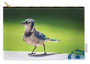 Blue Jay Walk Carry-all Pouch