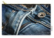 Blue Jeans Carry-all Pouch