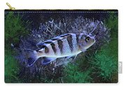 Blue Kenyi Cichlid Carry-all Pouch