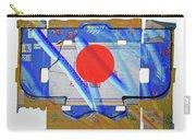 Blue Kimono Carry-all Pouch