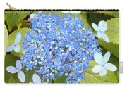 Blue Lacecap Hydrangeas Carry-all Pouch