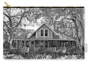 Blue Lake House B W Carry-all Pouch