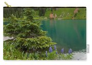 Blue Lakes Summer Portrait Carry-all Pouch