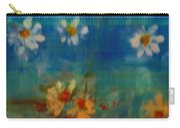 Blue Landscape In Oil Carry-all Pouch