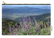 D3b6377-blue Lupine And Kenwood  Carry-all Pouch