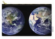 Blue Marble Composite Images Generated By Nasa Carry-all Pouch