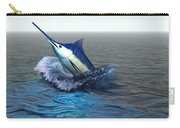 Blue Marlin Carry-all Pouch by Corey Ford