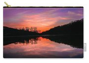 Blue Marsh Lake Sunset Carry-all Pouch