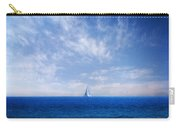 Blue Mediterranean Carry-all Pouch by Stelios Kleanthous