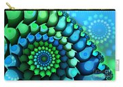 Blue Meets Green Carry-all Pouch