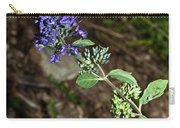 Blue Mist Spirea Carry-all Pouch