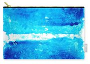 Blue Modern Art - Two Pools - Sharon Cummings Carry-all Pouch