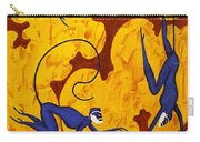 Blue Monkeys No. 45 Carry-all Pouch