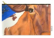 Blue Moo Carry-all Pouch