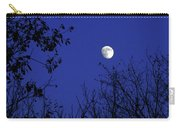 Blue Moon Among The Tree Tops Carry-all Pouch