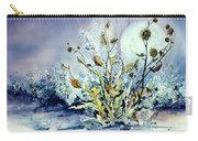 Blue Moon Floral Carry-all Pouch