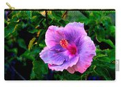 Blue Moon Hibiscus Carry-all Pouch