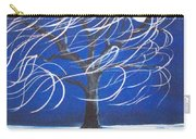 Blue Moon Willow In The Wind Carry-all Pouch
