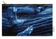 Blue Moon Wolf Pack Carry-all Pouch