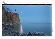 Blue Moonrise At Split Rock Lighthouse Carry-all Pouch