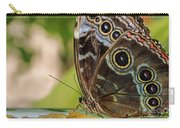 Blue Morpho Butterfly Morpho Peleides  Carry-all Pouch