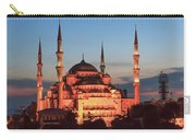 Blue Mosque At Dusk Carry-all Pouch