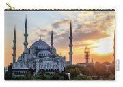 Blue Mosque At Sunset Carry-all Pouch