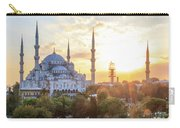 Blue Mosque Sunset Carry-all Pouch