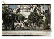 Blue Mosque - Vintage Blue Carry-all Pouch