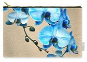 Blue Mystique Orchid Carry-all Pouch