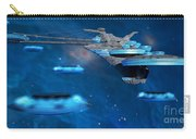 Blue Nebula Expanse Carry-all Pouch by Corey Ford