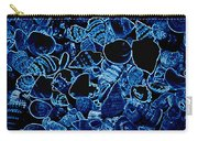 Blue Neon Shells Carry-all Pouch