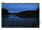 Blue Night Falling Carry-all Pouch