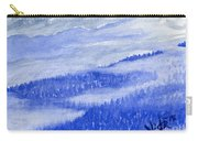 Blue Noon In Western Montana Carry-all Pouch