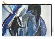 Blue Olympic Horse  Carry-all Pouch