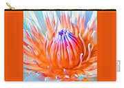 Blue Orange Lily Carry-all Pouch