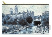Blue Ottawa Skyline - Water Color Carry-all Pouch