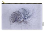 Blue Pagliai Ferns Carry-all Pouch