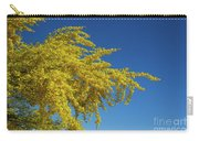 Blue Palo Verde Tree-signed-#2343 Carry-all Pouch