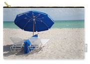 Blue Paradise Umbrella Carry-all Pouch